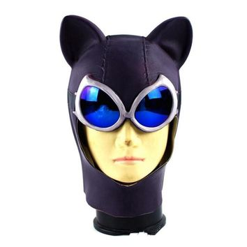 Batman Dark Knight gift Christmas Fancy Superhero Movie Batman Catwoman Party  Funny Mask Cosplay Costumes Accessories Latex Hoods Halloween Props AT_71_6