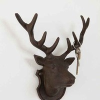 Deer Head Hook- Brown ALL