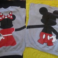 Free Shipping for US Full Body Mickey and Minnie Mouse Couples Sweatshirts
