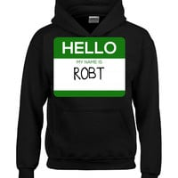 Hello My Name Is ROBT v1-Hoodie