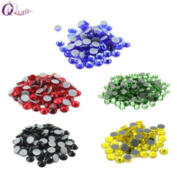 SS16 (3.8-4.0mm)  Hot fix Rhinestones High Quality DMC Crystal AB Iron On Rhinestones Clothing, bag accessories