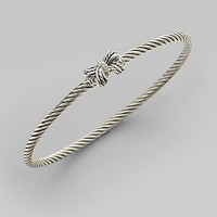 David Yurman - Diamond Accented Petite Ribbon Bangle - Saks.com