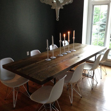 Reclaimed Wood Tables made to order in custom sizes