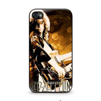 led zeppelin iphone 4 4s case cover  number 1