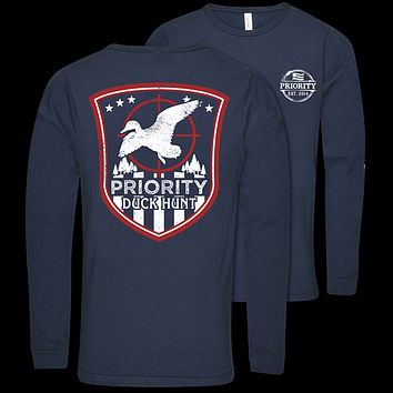 Southern Couture Priority Duck Hunt Unisex Long Sleeve T-Shirt