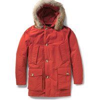 Woolrich Arctic Parka Coyote-Trimmed Down-Filled Coat | MR PORTER