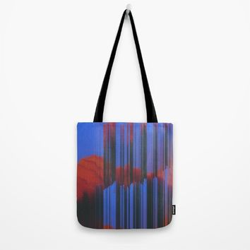 Sunset Melodic Tote Bag by DuckyB