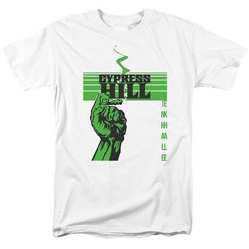Cypress Hill T-Shirt Inhale Exhale White Tee