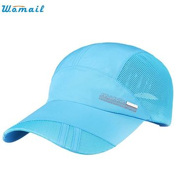 Superior Adult Mesh Hat Quick-Dry Collapsible Sun Hat Sunscreen Baseball Cap MAY 31Jan 22