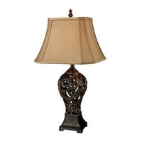 D1757 Trump Home Allegra Table Lamp in Bronze - Free Shipping!