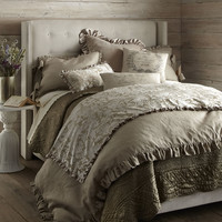 "Queen Linen Duvet Cover, 96"" x 98"" - French Laundry Home"