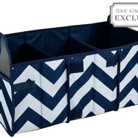 Trunk Foldable  Organizer, Chevron, Trunk Organizers