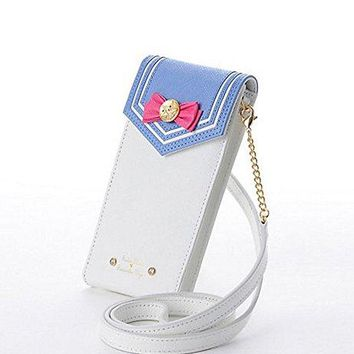 INDRESSME Sailor Moon Cell Phone Case Wallet Cute CrossBody Bag Leather Wallets for Women