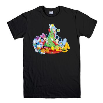 DISNEY MICKEY FAMILY Men's T-Shirt