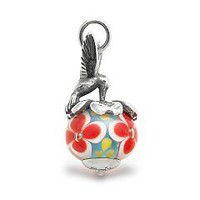 Hummingbird Finial with Floral Charm | James Avery