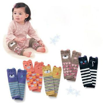 Leg Warmers Legging Arm Warm Striped For Infant Baby Toddler Girl Boy