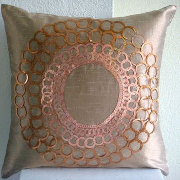 The Rising Sun  Throw Pillow Covers  16x16 by TheHomeCentric