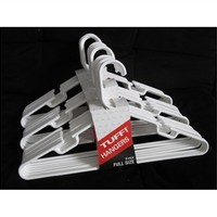 Classic White Hangers 24 Pack Dorm Shopping Supplies Closet Organization Tips College Stuff