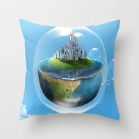 Bubble palace Throw Pillow by Store2u