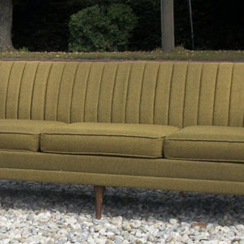 mid century MODERN SOFA couch by Kroehler