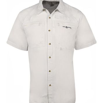 Men's Crosswinds S/S UV Vented Fishing Shirt
