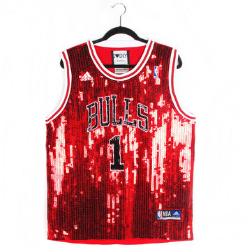 Sequin Chicago Bulls Jersey