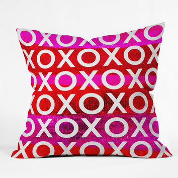 Sophia Buddenhagen Hugs And Kisses Throw Pillow