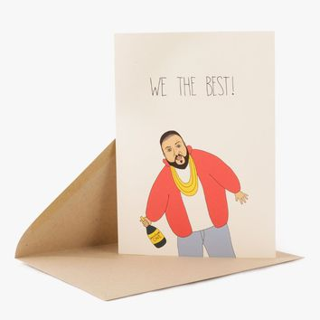 We The Best Card