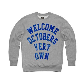 WELCOME OVO CREWNECK SWEATSHIRT | October's Very Own