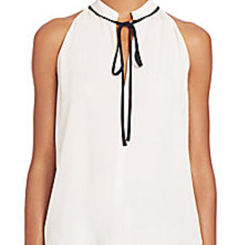 A.L.C. - Ivy Tie-Neck Top - Saks Fifth Avenue Mobile
