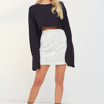 Silence + Noise Cory Corset Mini Skirt | Urban Outfitters