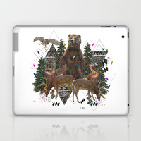 YOUNG SPIRITS IN THE WOODS Laptop & iPad Skin by Kris Tate