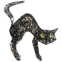 Glitter Black Cat LED