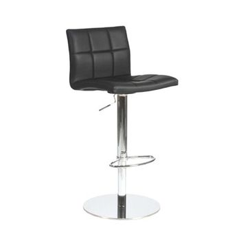 Eurostyle Cyd Adjustable Height Bar/ Counter Stool in Black