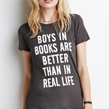 Boys In Books Graphic Tee