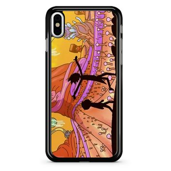 Rick Morty iPhone X Case
