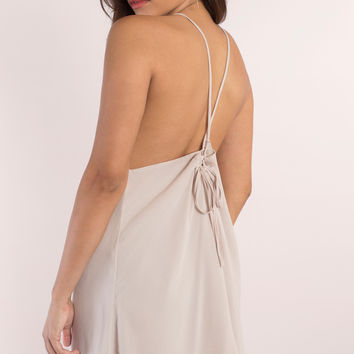 Voltage Low Back Swing Dress