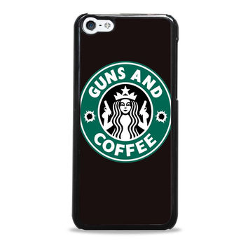 Guns And Coffee Starbuck Parody Iphone 5C Cases