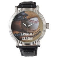 Watch: Baseball Season Wristwatches