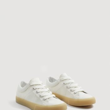 Contrast sole sneakers - Woman | MANGO United Kingdom