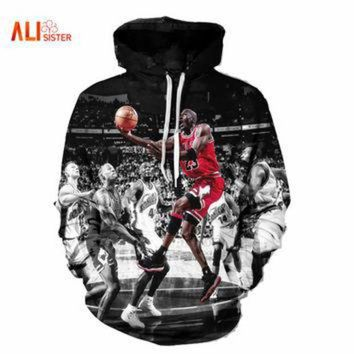 DCKL9 Alisister Fashion Jordan Hoodies Men 3d Print Painting Sweatshirt Designer Men's Sweat
