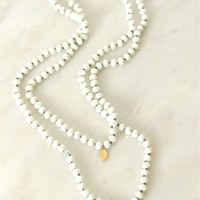 Beadazzle Necklace White