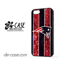 New England Patriots Nfl Logo Glitter For Iphone 5 Iphone 5S Case Phone Case Gift Present