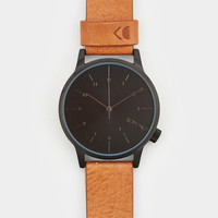 Komono Winston Regal Watch - Cognac