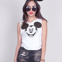 Holy Mickey Mouse Crop Tank