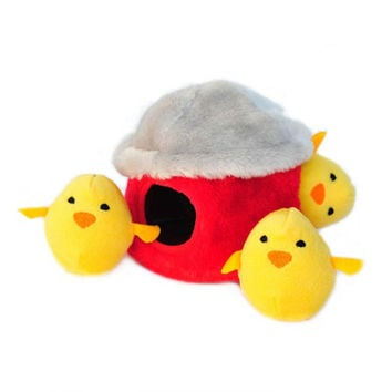 Chicken Hut Burrow Toy