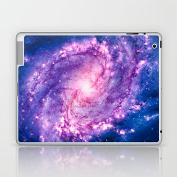 Cosmic vacuum cleaner (Spiral Galaxy M83) Laptop & iPad Skin by Badbugs_art