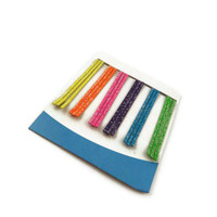 Bobby Pins Glitter Neon colors, Colored Bobby pins,  Glitter assorted neon colors bobby pins, Bobby pins