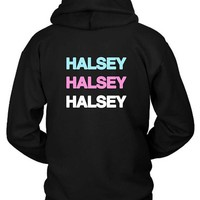 DCCK7H3 Halsey In Colors Hoodie Two Sided