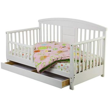 Dream On Me, Deluxe Toddler Day Bed,White - Walmart.com